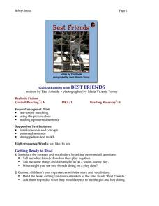 Best Friends Lesson Plan