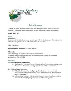 Prairie Resources Lesson Plan