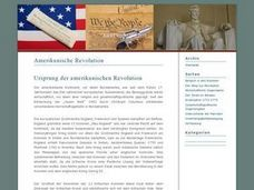 The Stamp Act and the Revolutionary War Lesson Plan
