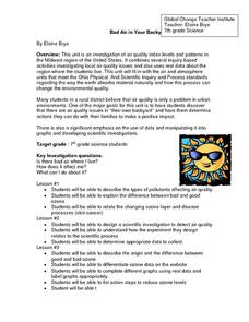 Air Dectector Investigation Lesson Plan