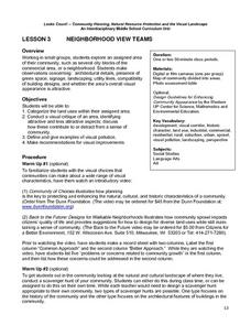 Neighborhood View Teams Lesson Plan