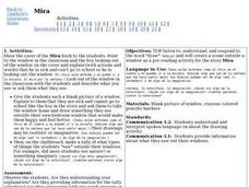 Foreign Language: Mira Lesson Plan