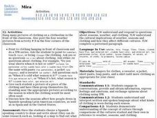 Mira:  Activity 12 Lesson Plan