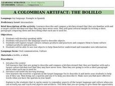 A Colombian Atifact: The Bolillo Lesson Plan