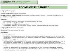 Rooms of the House Lesson Plan