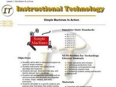 Simple Machines In Action Lesson Plan