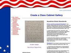 Create a Class Cabinet Gallery Lesson Plan