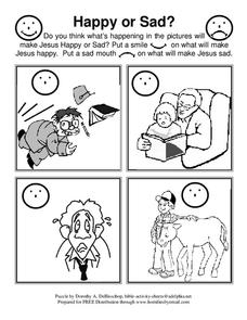 Bible Activities Lesson Plan