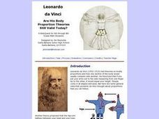 da Vinci: Body Proportion Theories Lesson Plan