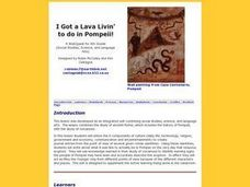 I Got a Lava Livin' to Do in Pompeii Lesson Plan
