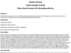 River Rock #4: Breaking Rocks Lesson Plan