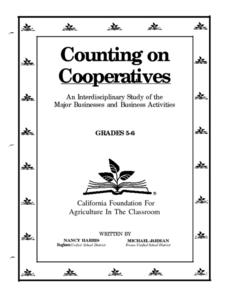 Counting on Cooperatives Lesson Plan