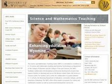Why Not Wyoming? Lesson Plan
