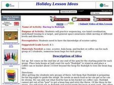 Racing to Rudolph Lesson Plan