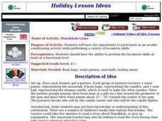 Hanukkah Game Lesson Plan