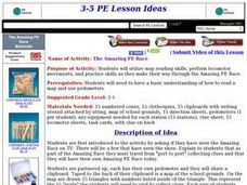 The Amazing PE Race Lesson Plan