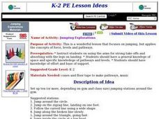 Jumping Explorations Lesson Plan