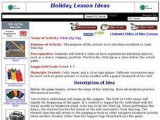 Irish Jig Tag Lesson Plan