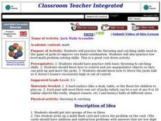 Jack Math Scramble Lesson Plan