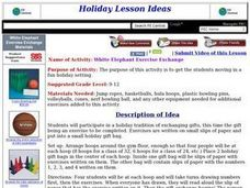 White Elephant Exercise Exchange Lesson Plan