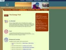 The Energy Trail Lesson Plan