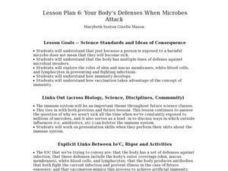 Your Body's Defenses When Microbes Attack Lesson Plan