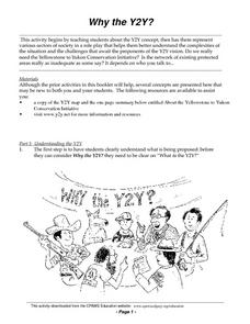 Why the Y2Y? Lesson Plan