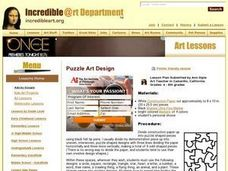 Puzzle Art Design Lesson Plan