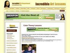 Introductory Activity for Color Unit: Edible Color Wheel Lesson Plan