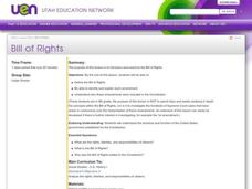 Bill of Rights Lesson Plan