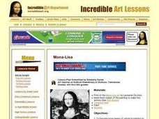 Mona-Lisa Lesson Plan