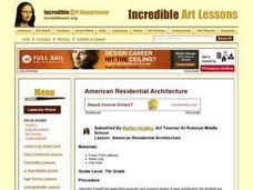 American Residential Architecture Lesson Plan