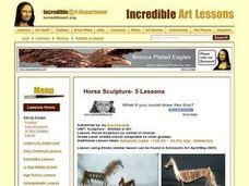 Horse Sculpture (or animal of choice) Lesson Plan