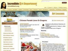 Chinese Parade Lions or Dragons Lesson Plan