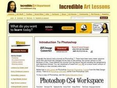 Photoshop Curriculum Lesson Plan