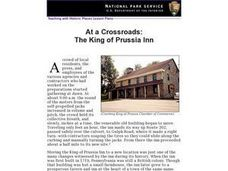 At a Crossroads: The King of Prussia Inn Lesson Plan