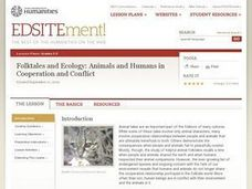 Folktales and Ecology: Animals and Humans in Cooperation and Conflict Lesson Plan