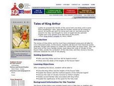 Tales of King Arthur Lesson Plan