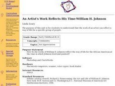 An Artist's Work Reflects His Time-William H. Johnson Lesson Plan