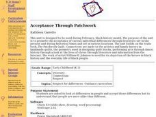 Acceptance Through Patchwork Lesson Plan