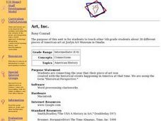 Art, Inc. Lesson Plan