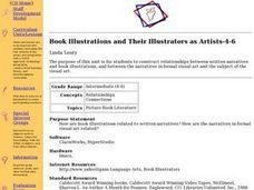 Book Illustrations and Their Illustrators as Artists-4-6 Lesson Plan