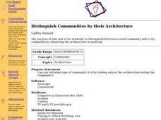 Distinguish Communities by Their Architecture Lesson Plan