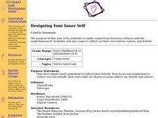 Designing Your Inner Self Lesson Plan