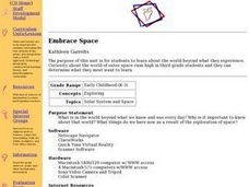 Embrace Space Lesson Plan