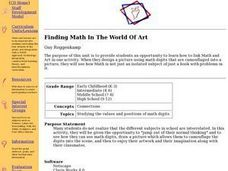 Finding Math In The World Of Art Lesson Plan