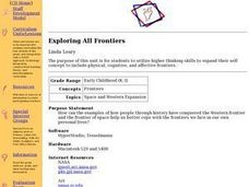 Exploring All Frontiers Lesson Plan
