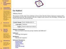 Go Native! Lesson Plan