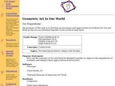 Geometric Art In Our World Lesson Plan