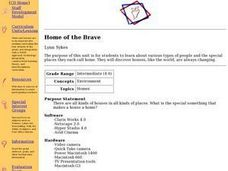 Home of the Brave Lesson Plan